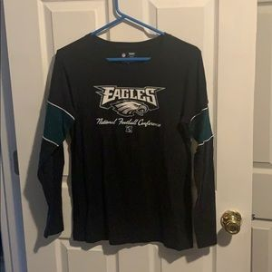 Long sleeve eagles shirt